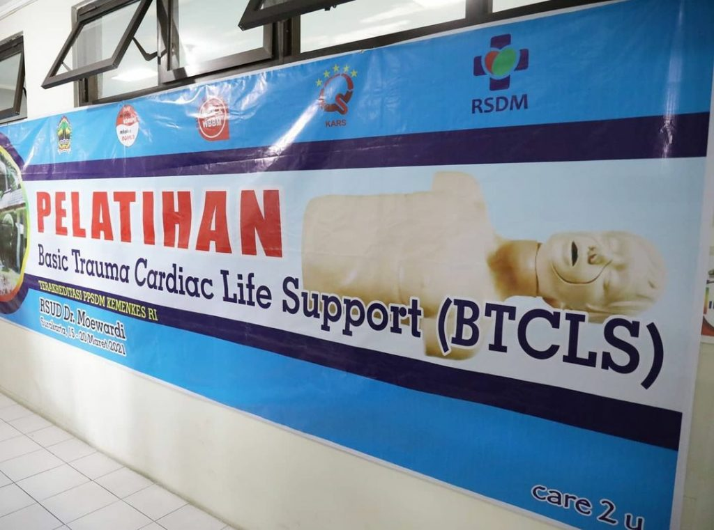 Pelatihan Basic Trauma Cardiac Life Support (BTCLS)